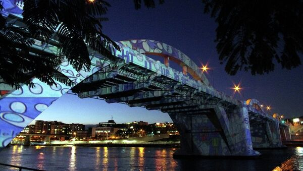Мост Уильям Джолли, Брисбен. Архивное фото