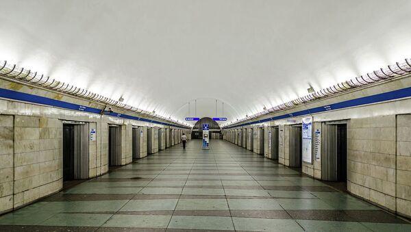 Станция Парк Победы Петербургского метрополитена