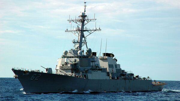 Американский военный корабль. Архивное фото