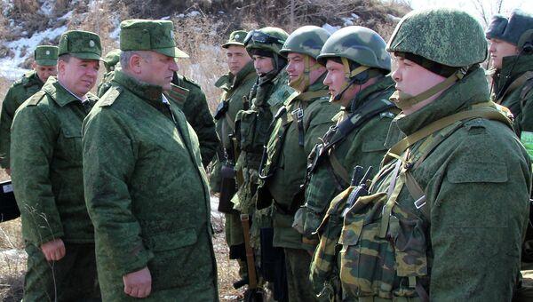 Командующий войсками ЦВО генерал-полковник Николай Богдановский