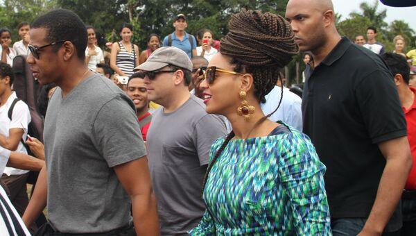Певица Бейонсе и ее супруг рэпер Джей-Зи отмечают 5-летие свадьбы на Кубе