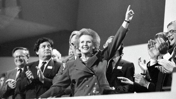Премьер-министр Великобритании Маргарет Тэтчер, 1989 год