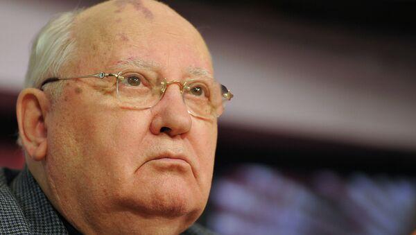 Бывший президент СССР Михаил Горбачев. Архивное фото