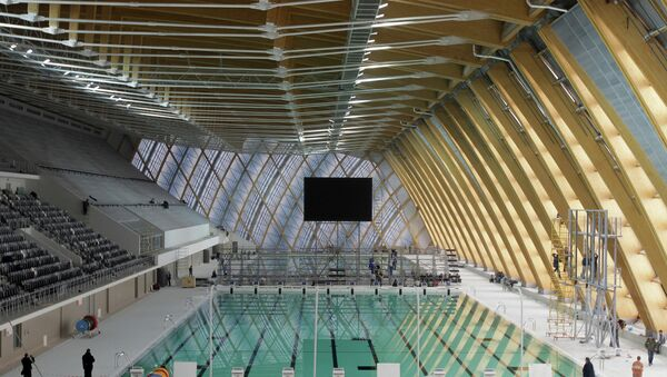 Дворец водных видов спорта в Казани. Архивное фото