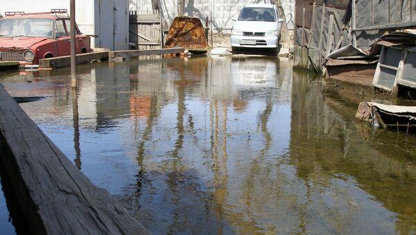 Наводнение на улице Второй Проходной во Владивостоке. Архив.