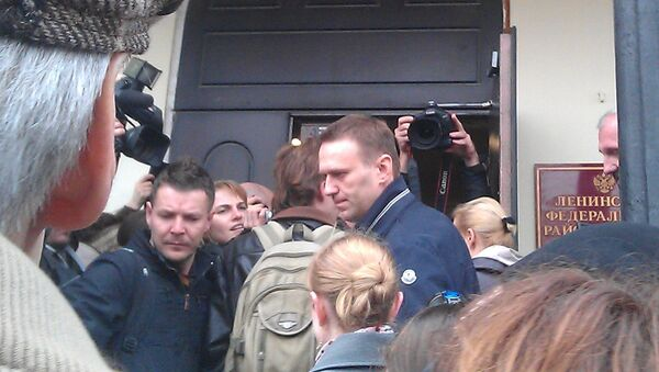 Навальный явился в суд по делу Кировлеса