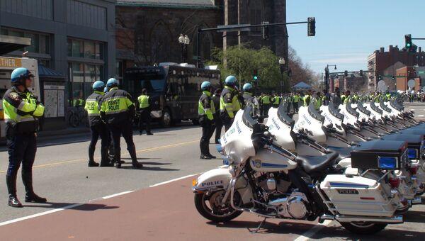 Полицейские в Бостоне