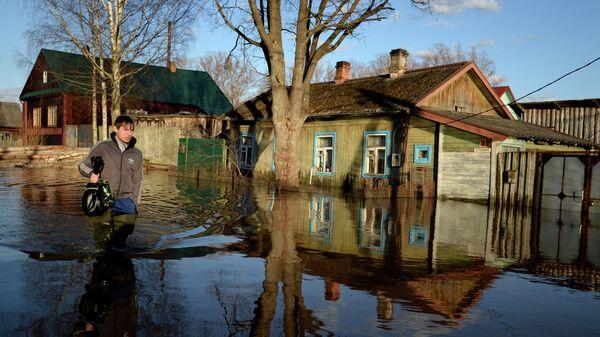 Паводок в Новгородской области