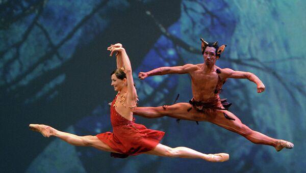 Балерина Анна Цыганкова (Национальный балет Королевства Нидерланды) и танцор Дэниэл Улбрихт (Нью-Йорк Сити балет)
