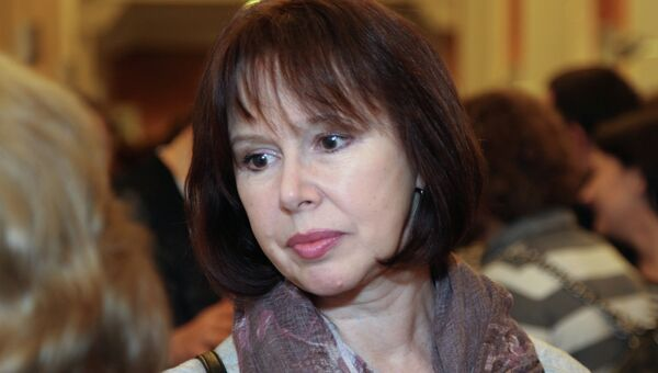Актриса Евгения Симонова. Архивное фото