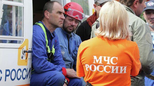 Спасатели МЧС России. Архивное фото