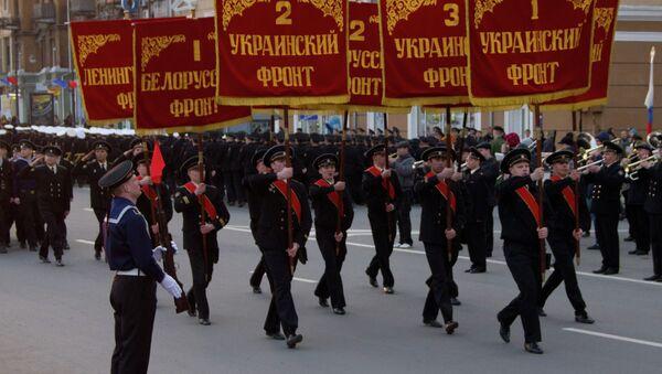 Репетиция парада во Владивостоке