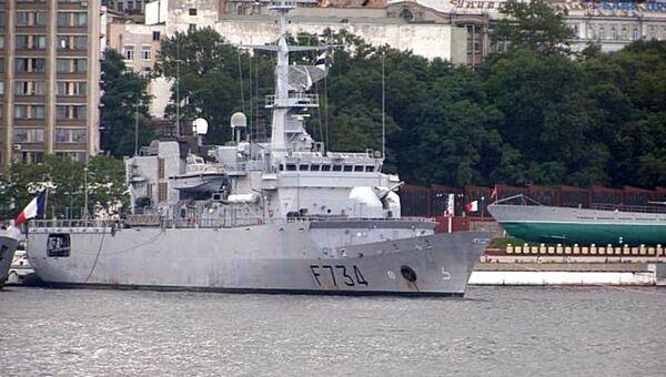 Жители и гости Владивостока смогут посетить военный фрегат ВМФ Франции