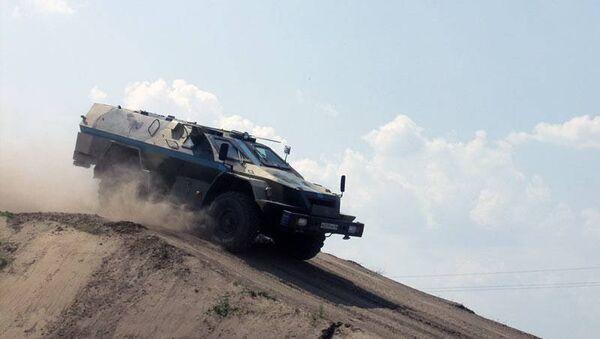 Бронированный автомобиль КАМАЗ-43269 Выстрел (БПМ-97)
