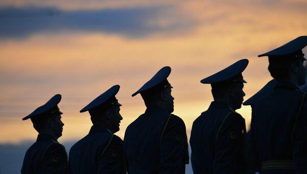 Военные. Архивное фото