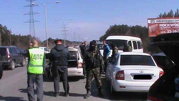 Проверка автоколонны в Сургуте
