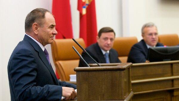 Заместитель губернатора Красноярского края Михаил Кузичев
