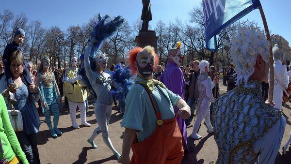 Цирк дю Солейль в Петербурге