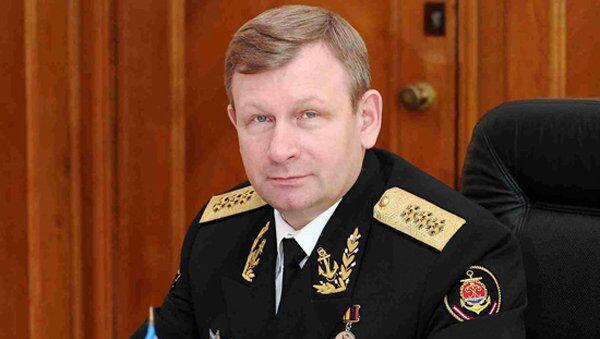 Главнокомандующий Военно-Морским Флотом России адмирал Виктор Чирков. Архивное фото