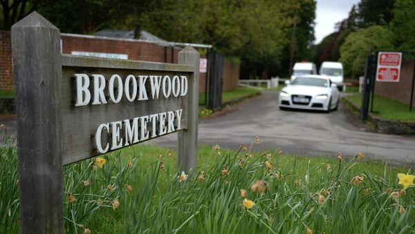 Кладбище Бруквуд в графстве Суррей в Великобритании