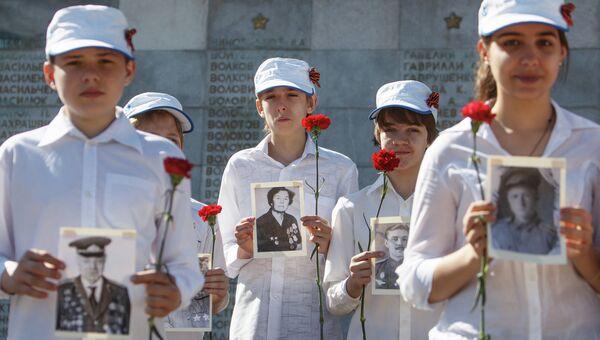 Празднование Дня Победы. Архивное фото