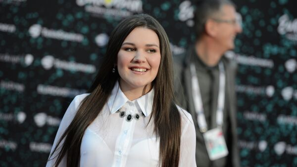 Дина Гарипова на открытии международного конкурса песни Евровидение-2013