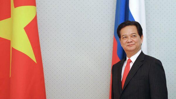 Премьер-министр Вьетнама Нгуен Тан Зунг. Архивное фото