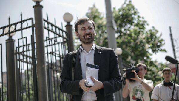 Илья Пономарев вызван на допрос в Следственный комитет по делу о растрате в фонде Сколково
