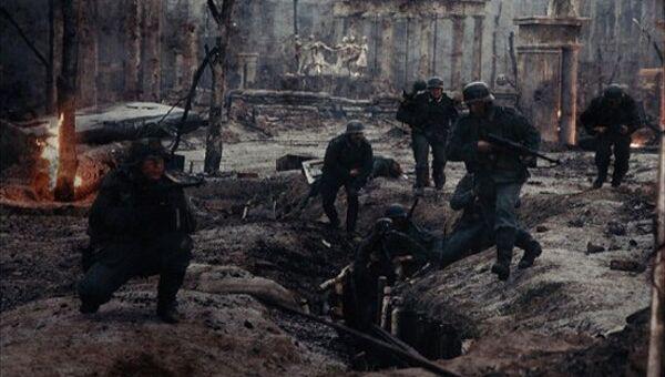 Кадр из фильма Сталинград (2013), архивное фото