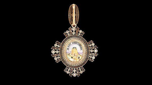 Орден Святой Великомученицы Екатерины (тыльная сторона)