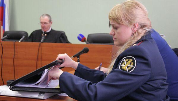 Заседание Березниковского городского суда по делу об УДО Марии Алехиной