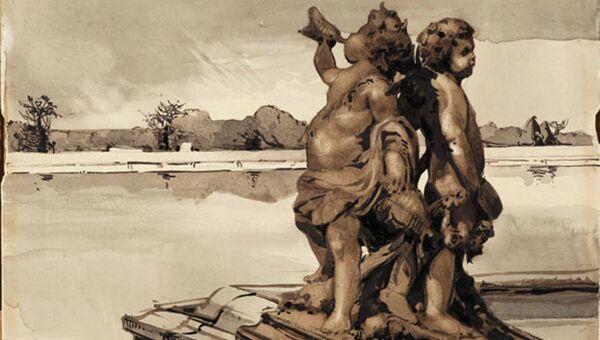 Александра Бенуа, Версаль. Водный партер, 1906 год