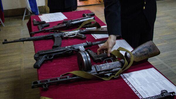 Выставка техники пограничников во Владивостоке