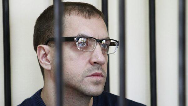 Сотрудник фонда Город без наркотиков Игорь Шабалин в суде. Архивное фото