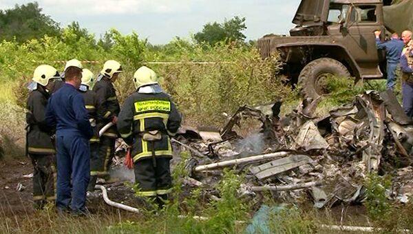 Военный вертолет Ми-8Т разбился под Саратовом