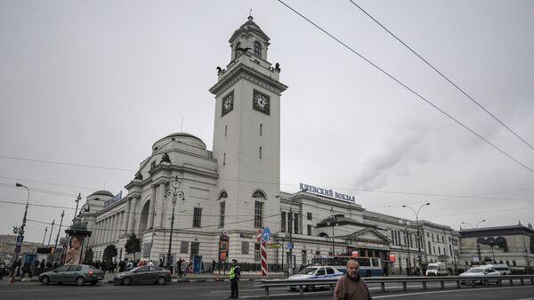 Киевский вокзал в Москве. Архивное фото