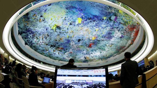 Заседание Совета ООН по правам человека по ситуации в Сирии