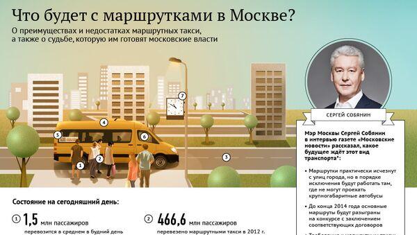 Маршрутные такси в Москве