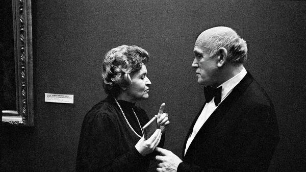 Ирина Антонова и Святослав Рихтер. Архивное фото
