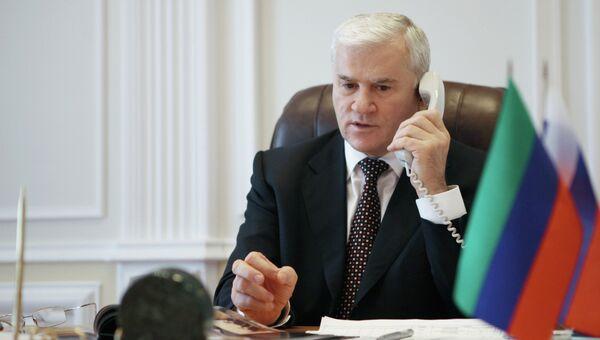 Мэр Махачкалы Саид Амиров