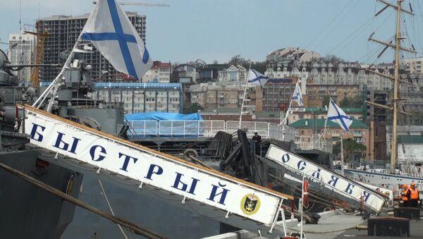 Ветераны снова в строю: Поход памяти ТОФ стартовал из Владивостока