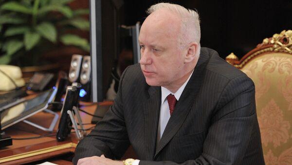 Председатель Следственного комитета Российской Федерации Александр Бастрыкин. Архивное фото.