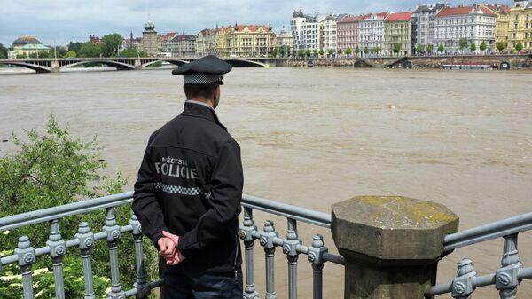 Большая вода прошла через Прагу. Наводнение в Чехии