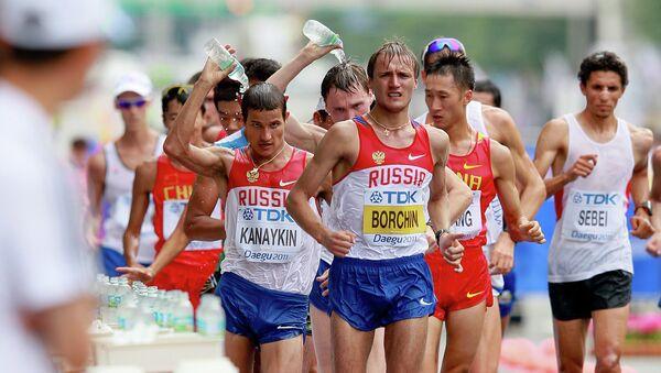 Легкоатлет Валерий Борчин
