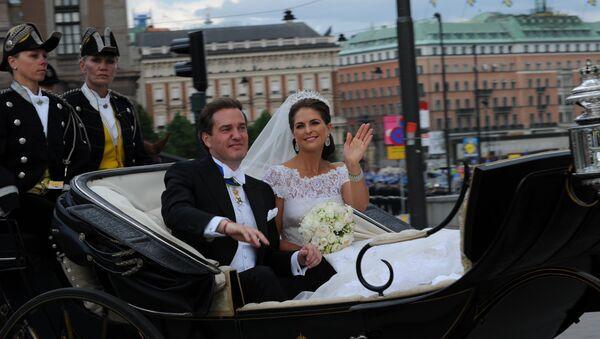 Венчание шведской принцессы Мадлен и американского финансиста Кристофера О'Нила