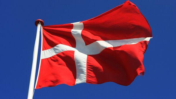 Флаг Дании. Архивное фото