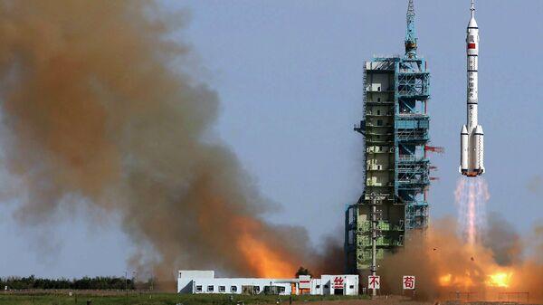 Запуск китайского космического корабля