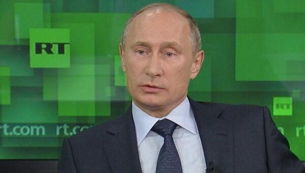 Путин о своем разводе, скандале с прослушкой в США и отношениях с Грузией
