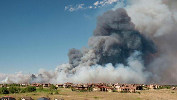 Природные пожары в Колорадо