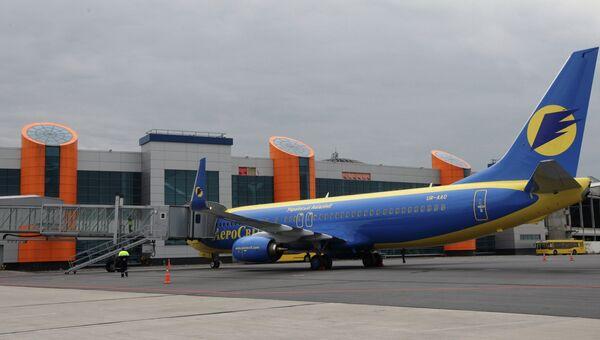 Международный аэропорт Храброво. Архивное фото